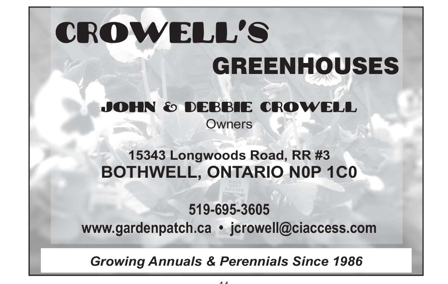 Crowell's Greenhouses