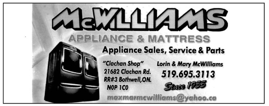 McWilliams Appliance and Mattress